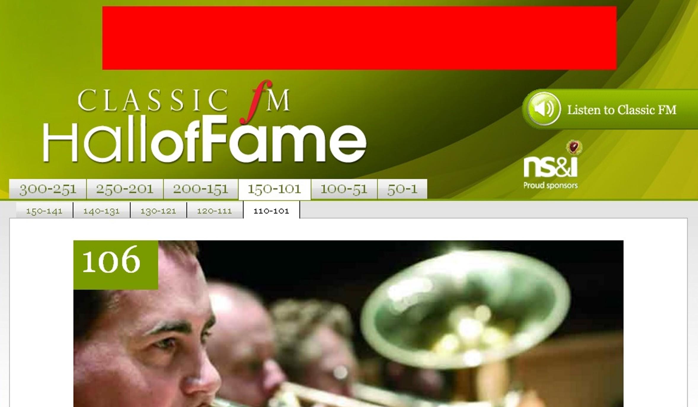 Classic FM Hall Fame(1)
