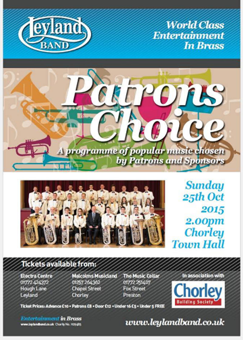 Patrons Choice Matinee poster