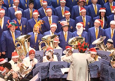 Christmas Voices, Christmas Brass @ Parr Hall, Warrington