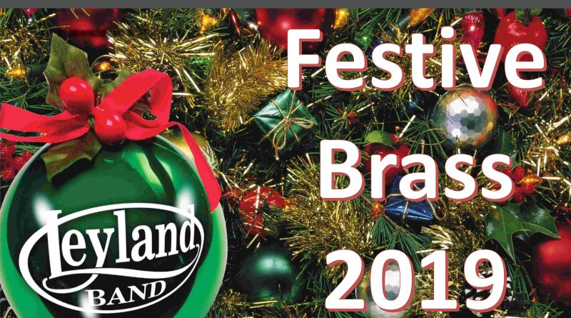 Festive Brass with Leyland Band 2019